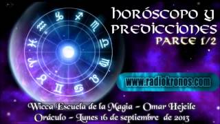 ORÁCULO; HORÓSCOPO Y PREDICCIONES parte 1/2