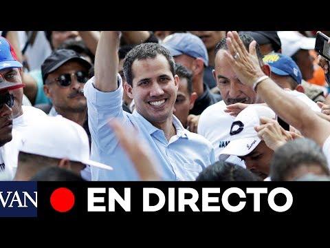 [EN DIRECTO] Juan Guaidó se reúne con empleados del sector público
