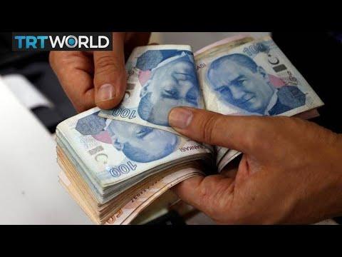 Turkish lira falls to record low amid global uncertainty | Money Talks