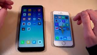 Xiaomi Redmi 5 Plus vs iPhone 5S