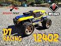 Wltoys 12402 a d7 racing truck 2s lipo speed run mp3