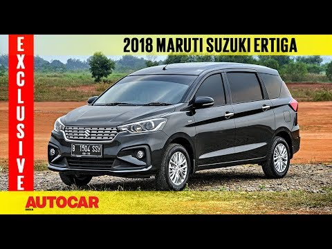 2018 Maruti Ertiga | Exclusive First Drive Review | Autocar India