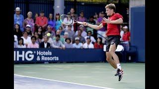 Pablo Carreno Busta vs. David Goffin | US Open 2019 R3 Highlights