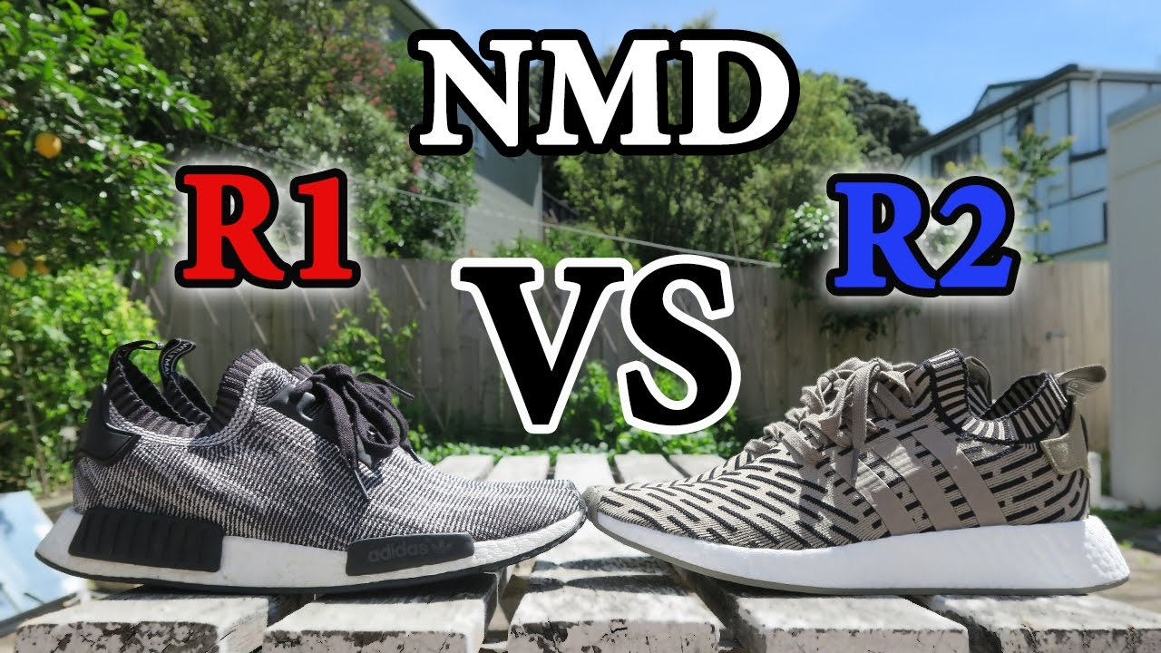 Adidas NMD R2 VS Adidas NMD R1 | Comparison YouTube