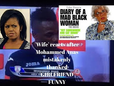 MOHAMMED ANAS  WIFE'S  REACTION TO FOOTBALLER AFTER HE THANKED WIFE AND GIRLFRIEND