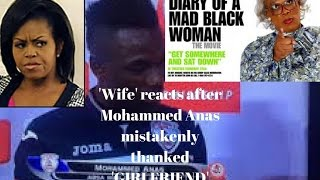 MOHAMMED ANAS, FOOTBALLER THANKED WIFE AND GIRLFRIEND | WIVE'S REACTION