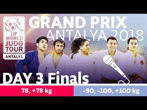 Judo Grand-Prix Antalya 2018: Day 3 - Final Block