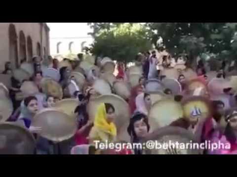 Daf festival in Sanandaj kurdistan Iran