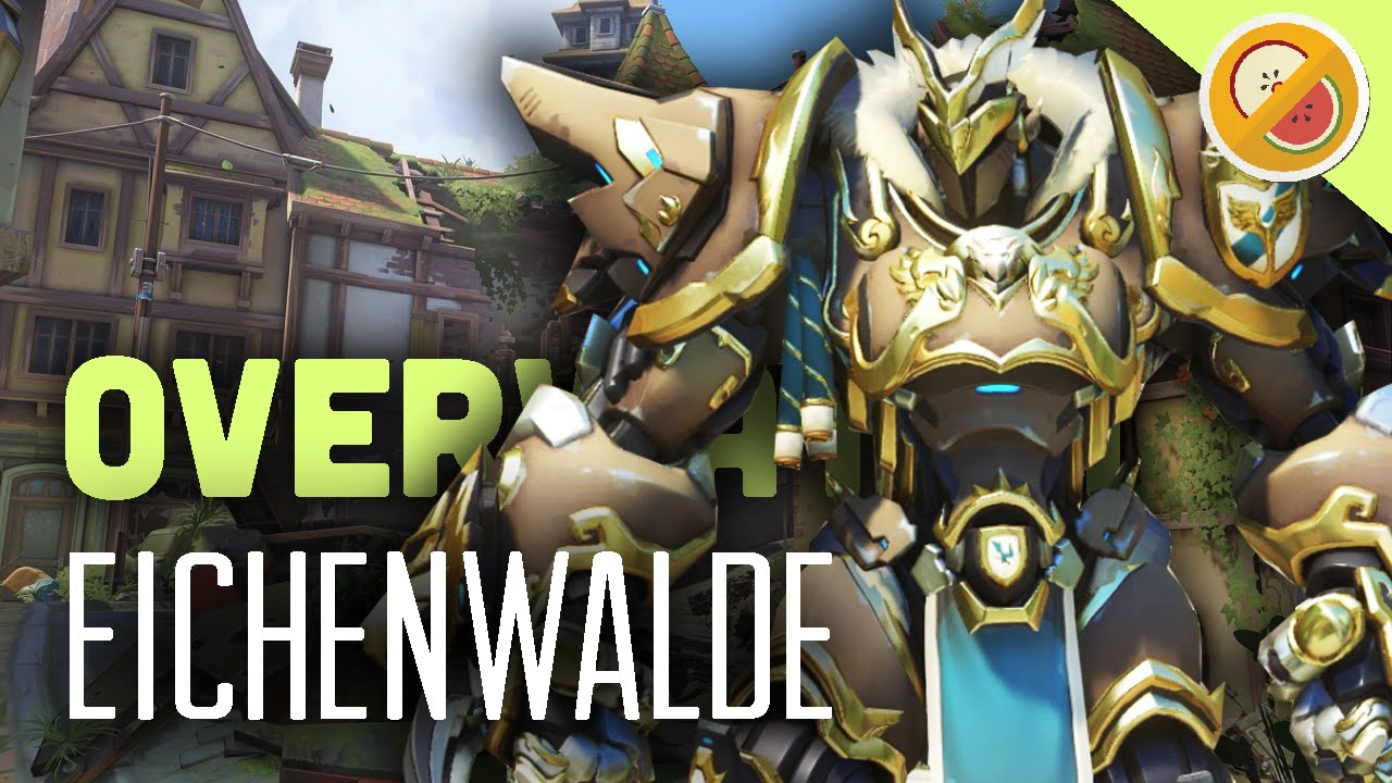 Eichenwalde New Map Brawl Overwatch Gameplay Funny Moments
