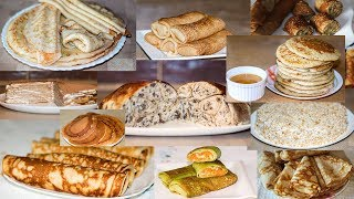 12 Рецептов Блинов и Блинчиков с Начинкой и Без + Курица с Блинами 🥞 Ирина Кукинг