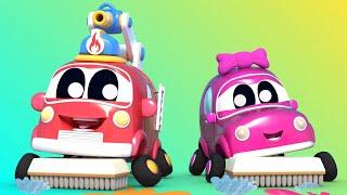 Малыши Машинки -  Учимся убираться с Малышами Машинками! - Обучающие мультфильмы с машинками