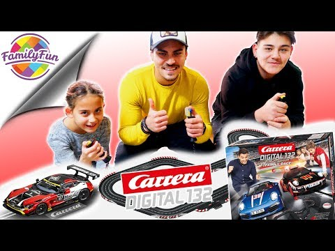 CARRERA DIGITAL 132 – 17 Meter Rennbahn im Wohnzimmer – Slot Car Racing | Family Fun