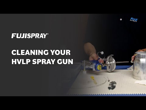 How To: Clean Your Fuji HVLP Spray Gun