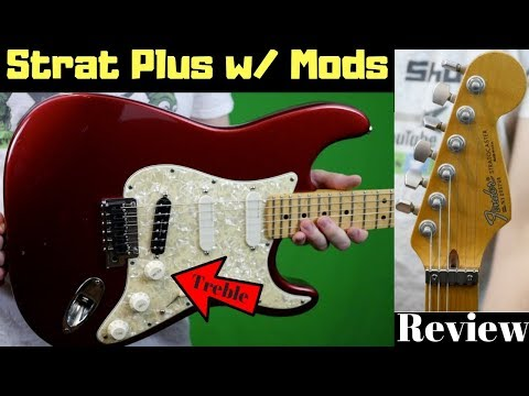 Treble Bleeds and Tales | 1991 Strat Plus Midnight Wine | Fender Friday Review + Demo