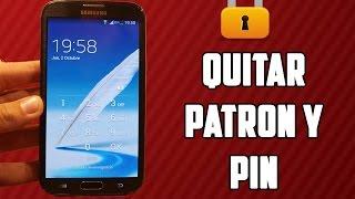 Como desbloquear telefono Android // Quitar //Pin// Patron // Contraseña