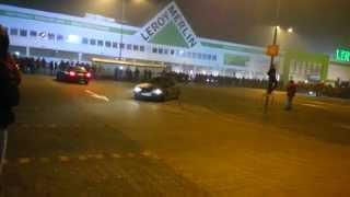 Illegal Night 18.01.15 Warszawa Marki M1 - BMW DRIFT plus akcja z policją