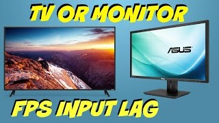 best budget low input lag tv s and monitor s for ps4 or xboxone fps