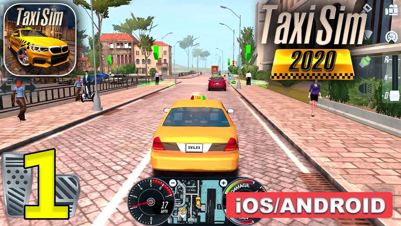 Taxi Sim 2020 Gameplay Walkthrough (Android, iOS) – Part 1