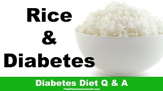 Is Rice Good For Diabetes