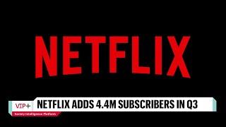 Netflix Stock Stalls Despite Better-Than-Expected Q3 Earnings