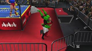 WIWA Wrestling Match #137: Raphael vs Harley Quinn
