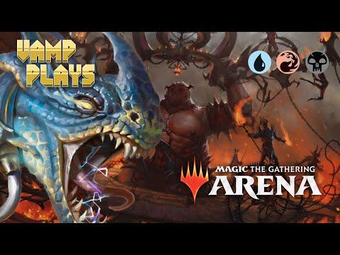 MTG Arena   A Basic Draw Deck?   Vamp Plays