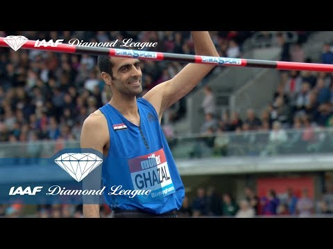 Majed Ghazal about the war in Syria and how difficult it is to get a VISA - IAAF Diamond League