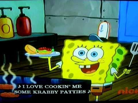 Spongebob Another Krabby Patty Song Youtube