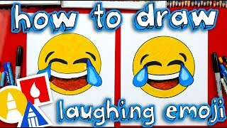 How To Draw Laughing Emoji