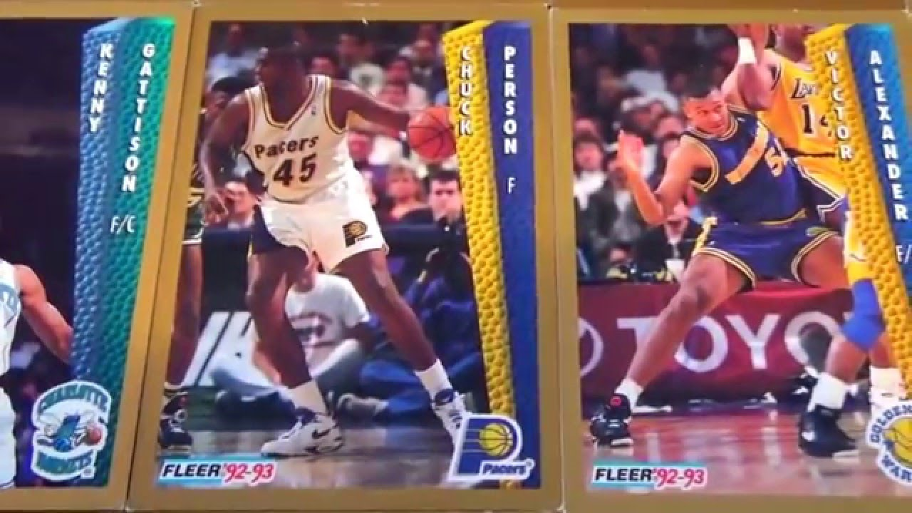 Fleer 92 93 Basketball Cards