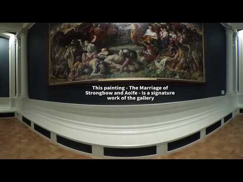 Take a 360-degree tour of the National Gallery of Ireland