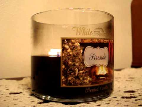 bath and body works candle review candle of the week fireside 2013 youtube. Black Bedroom Furniture Sets. Home Design Ideas