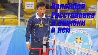 видео Волейбол техника и тактика игры в защите позиционные действия