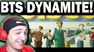 BTS (방탄소년단) 'Dynamite' Official MV REACTION!