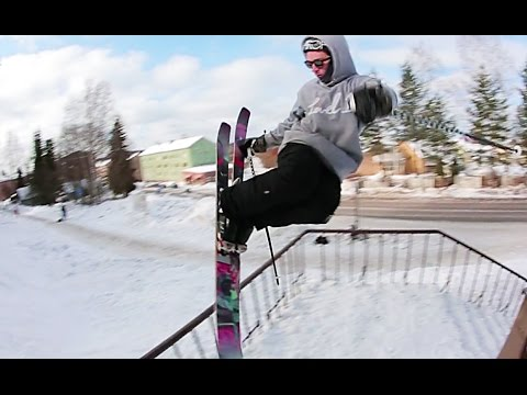 Real Ski Fi | Partly Cloudy Segment | Logan Imlach