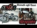 LAS TRANSFORMACIONES DE MI BICIMOTO CAFE RACER - ( Proyecto Café Racer  ) - CHRIS ABRIATA
