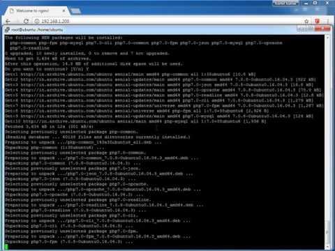 How To Install Linux, Nginx, MySQL, PHP (LEMP) Stack On Ubuntu 14.04 And  Ubuntu 16.04