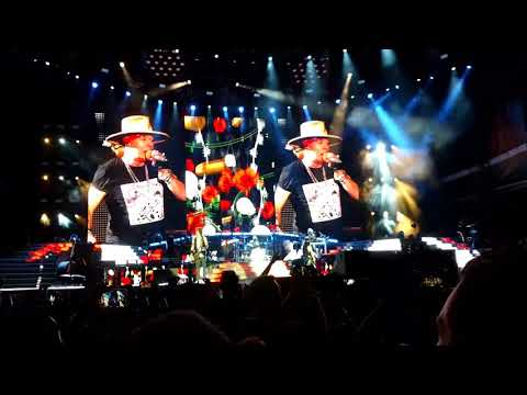 Guns N' Roses Sweet Child O' Mine Live from Sun Bowl Stadium