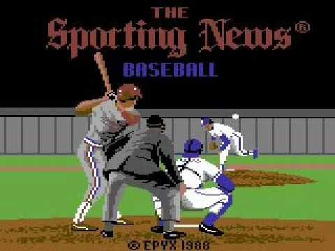 C64 Game Music - Sporting News Baseball Song - Stereo Edit