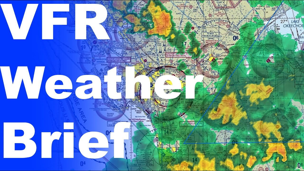 Vfr Weather Map.Ep 88 Getting A Vfr Weather Briefing How To Call Fss Youtube