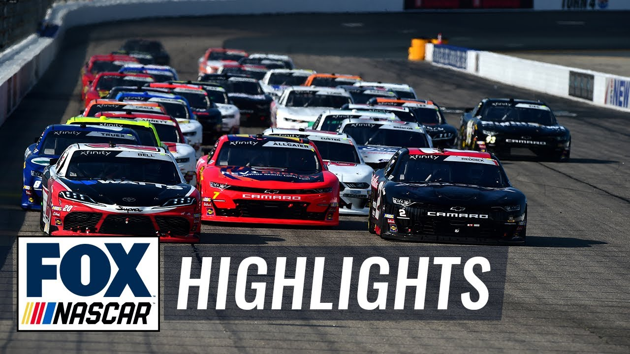ROXOR 200 at New Hampshire | NASCAR on FOX HIGHLIGHTS