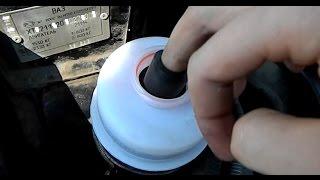 Доробка гідропідсилювача керма ваз Магніт в бачок