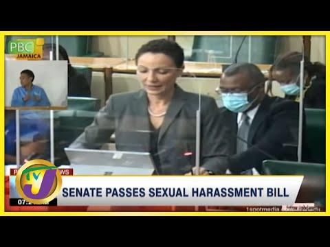 Senate Passes Sexual Harassment Bill | TVJ News - Oct 2 20221