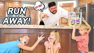 Pranking Chef Tommy with Fake Foods Mystery Challenge Wheel!