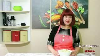 Салат с копчёной куриной грудкой пекинской капустой и кукурузой