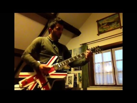 Oasis - Hey Now Cover by SanOCS1980 with new Epiphone Sheraton union Jack