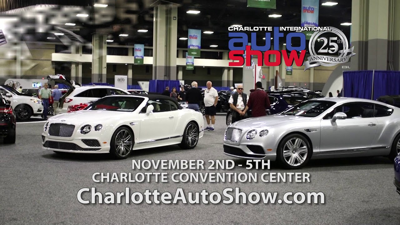 Charlotte Auto Show YouTube - Charlotte motor speedway events car show