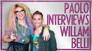 Drag Superstar WILLAM on how to 'Suck Less' & RuPaul's Drag Race tea