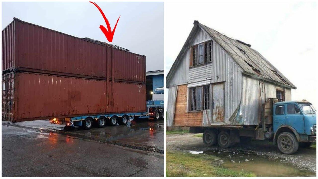 Перегруз грузовиков и перевозки просто гигантских грузов. №2