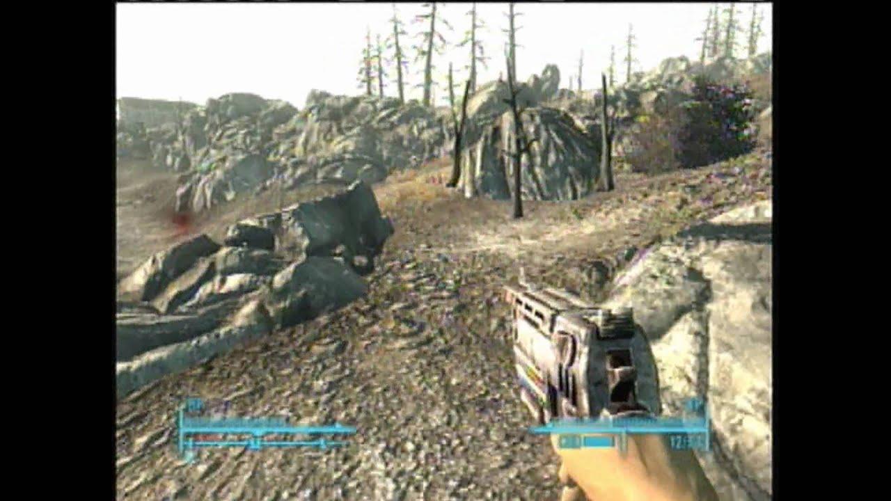 Fallout 3 - Hidden Sniper Rifle Close to Megaton - YouTube